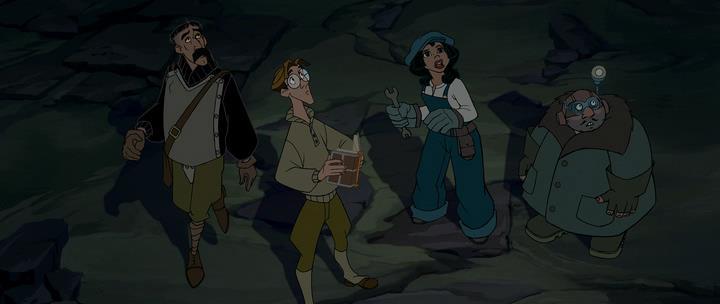 атлантида затерянный мир мультфильм 2001