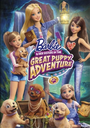 Барби и щенки в поисках сокровищ / Barbie & Her Sisters in the Great Puppy Adventurer (2015)