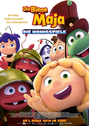 Пчелка Майя и Кубок меда / Maya the Bee: The Honey Games (2018)